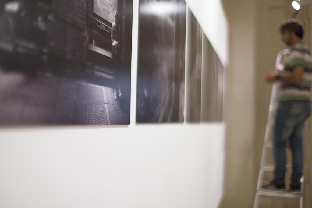 Fotografías del montaje de Rafaela Rodríguez
