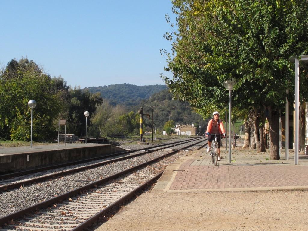 Inicia tu ruta entre la estación de Cazalla-Constantina y el Cerro del Hierro (Sevilla). Fotografía de Araceli Pardal.