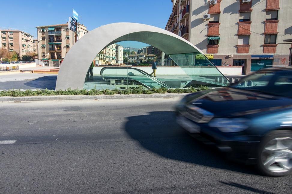 Edículos del Metropolitano de Granada en Camio de Ronda
