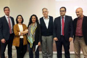Ponentes en el debate de Sevilla