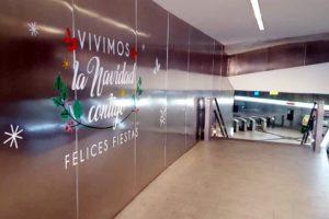 Estación Recogidas del metro de Granada