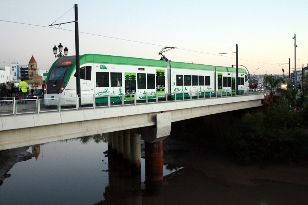 tren tranvía Cádiz